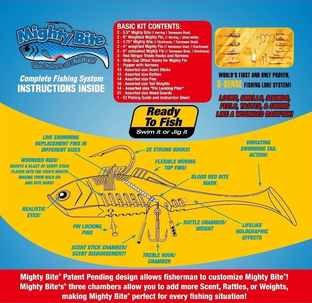 майти байт mighty bite набор снастей для рыбной ловли