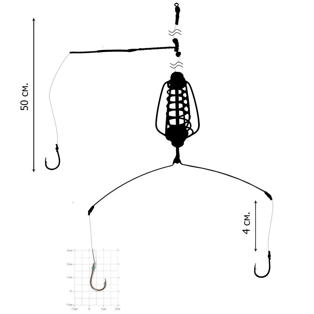 крючки для ловли линя
